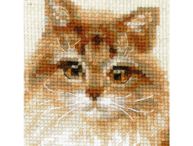 Pet Cat Cross Stitch Kit фото 4