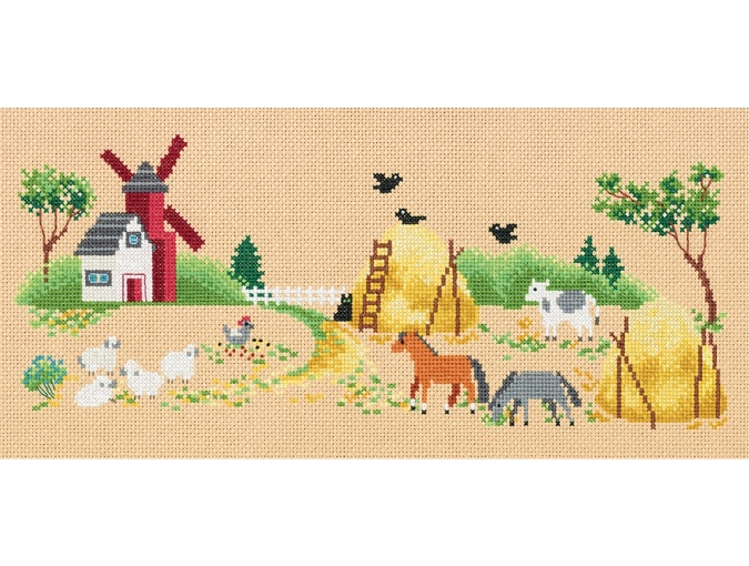 On the Farm Cross Stitch Kit фото 1