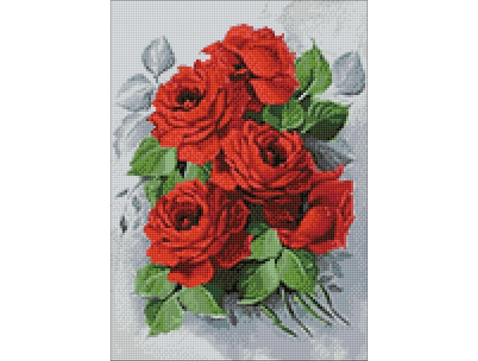 Fine Roses Diamond Painting Kit фото 2