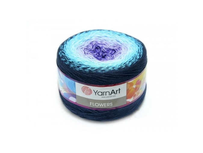 YarnArt Flowers, 55% Cotton, 45% Acrylic, 2 Skein Value Pack, 500g фото 1