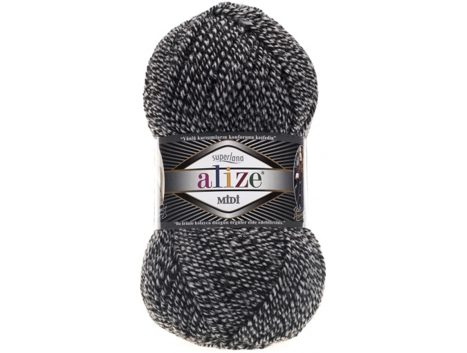 Alize Superlana Midi 25% Wool, 75% Acrylic, 5 Skein Value Pack, 500g фото 41