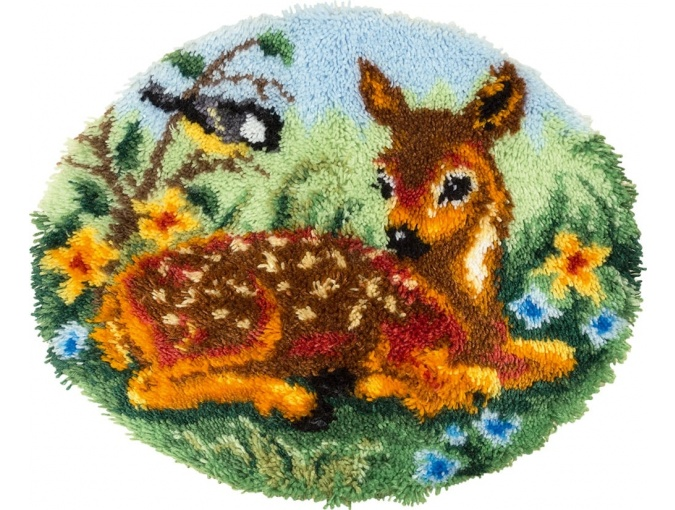 Fawn Rug Latch Hook Kit фото 1