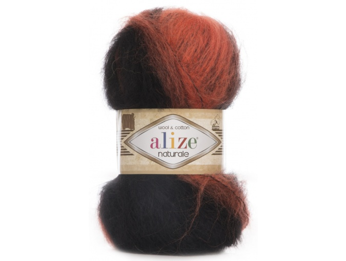 Alize Naturale, 60% Wool, 40% Cotton, 5 Skein Value Pack, 500g фото 28