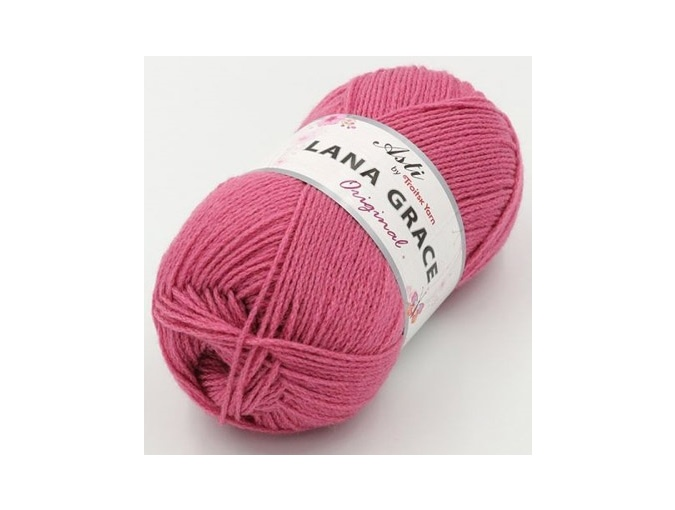Troitsk Wool Lana Grace Original, 25% Merino wool, 75% Super soft acrylic 5 Skein Value Pack, 500g фото 5