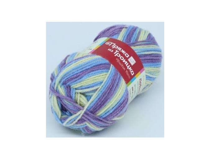 Troitsk Wool Countryside Print, 50% wool, 50% acrylic 10 Skein Value Pack, 1000g фото 34