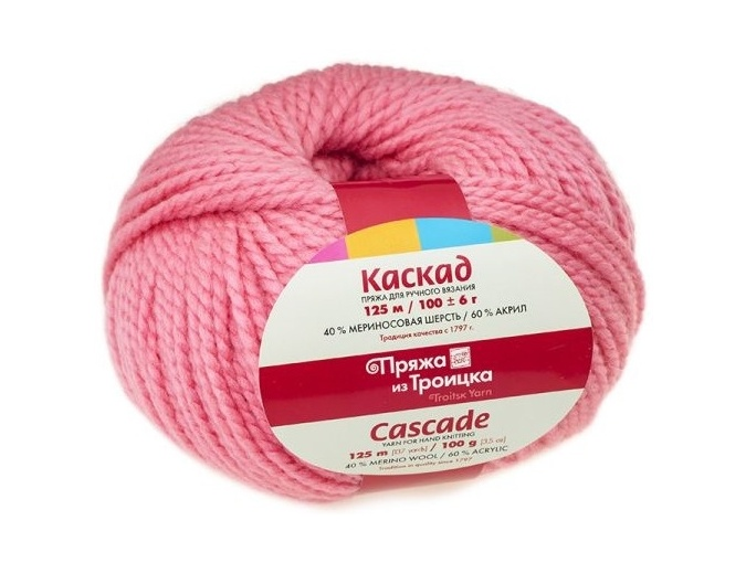 Troitsk Wool Cascade, 40% wool, 60% acrylic 10 Skein Value Pack, 1000g фото 5
