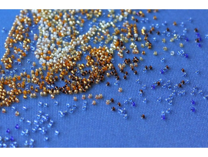 The Golden Bead Embroidery Kit фото 4