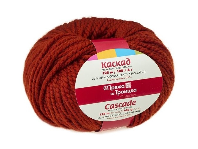 Troitsk Wool Cascade, 40% wool, 60% acrylic 10 Skein Value Pack, 1000g фото 22