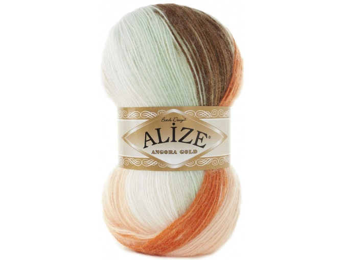 Alize Angora Gold Batik, 10% mohair, 10% wool, 80% acrylic 5 Skein Value Pack, 500g фото 68