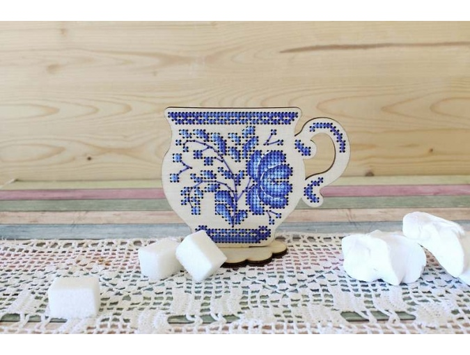 Tea Time Embroidery Kit фото 2