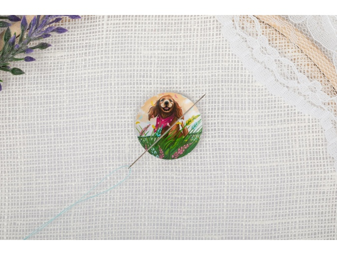 Magnetic Needle Minder №32 Dog in the Field фото 3