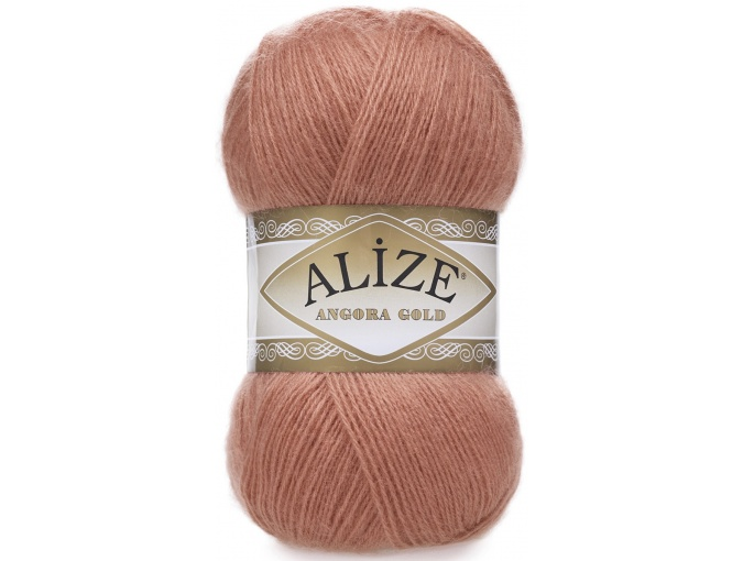 Alize Angora Gold, 10% Mohair, 10% Wool, 80% Acrylic 5 Skein Value Pack, 500g фото 22