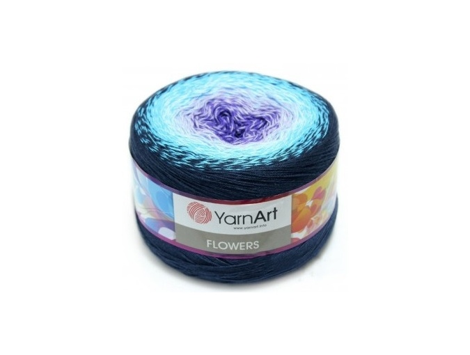YarnArt Flowers, 55% Cotton, 45% Acrylic, 2 Skein Value Pack, 500g фото 11