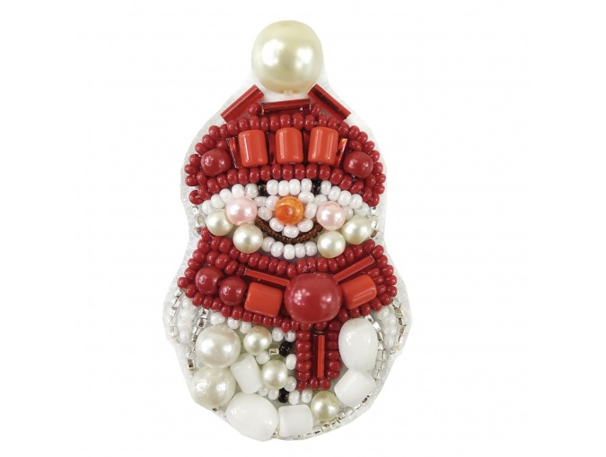 Snowman Embroidery Kit фото 1