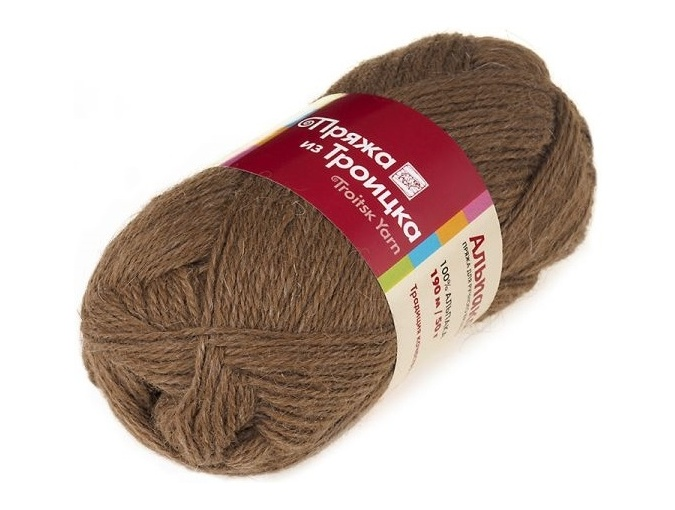 Troitsk Wool Alpaca, 100% alpaca 10 Skein Value Pack, 500g фото 5