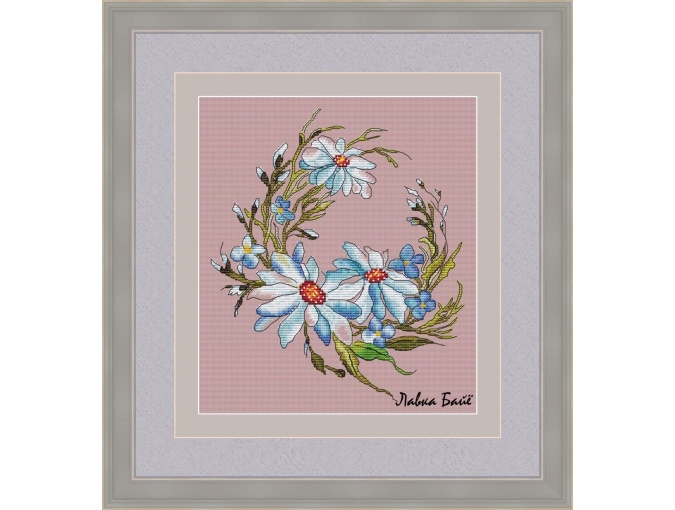 Daisies Cross Stitch Pattern фото 1