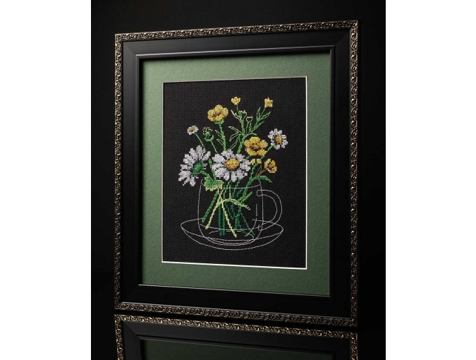 Chamomile Tea Cross Stitch Kit фото 2