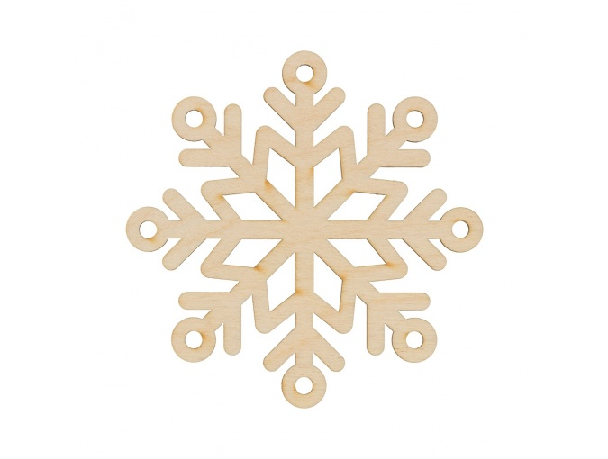 Wooden Snowflake 2 фото 1