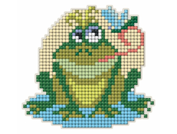 Frog Magnet Diamond Painting Kit фото 1