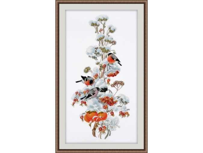 Winter Composition Cross Stitch Kit фото 1
