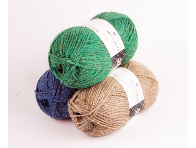 Pekhorka For Socks, 50% Wool, 50% Acrylic 10 Skein Value Pack, 1000g фото 1