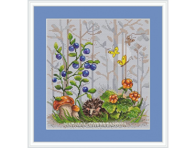 Forest Story Cross Stitch Chart фото 2