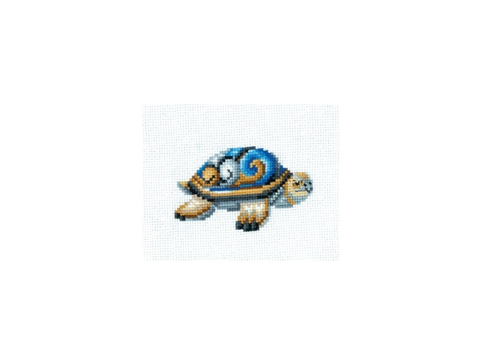 Statuette Turtle Cross Stitch Kit фото 1