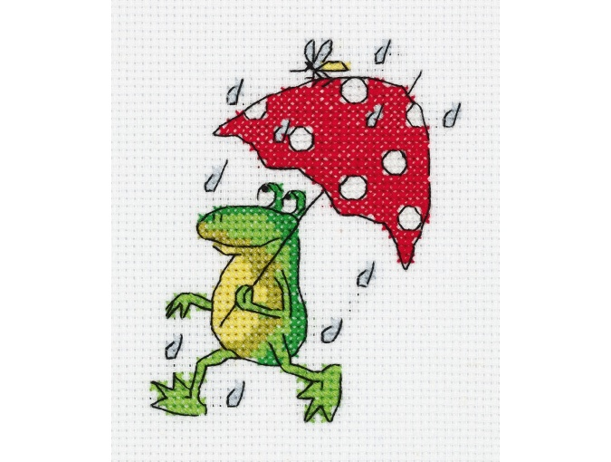 Summer Rain Cross Stitch Kit фото 1