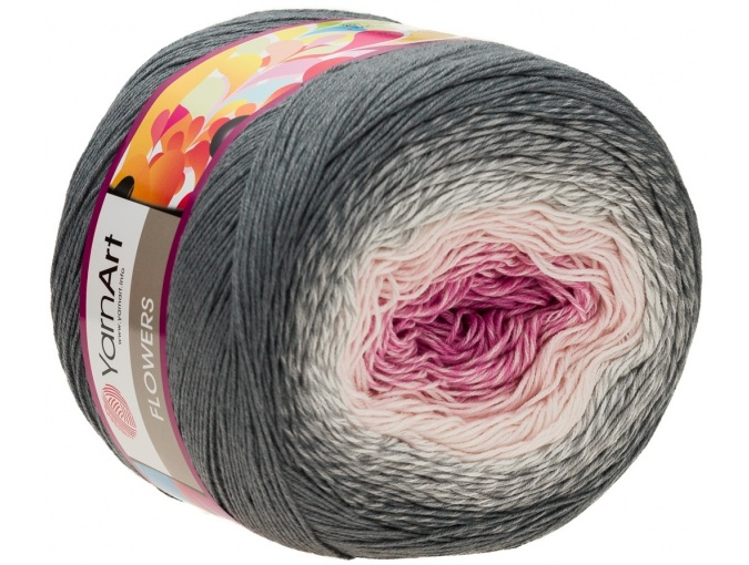 YarnArt Flowers, 55% Cotton, 45% Acrylic, 2 Skein Value Pack, 500g фото 81