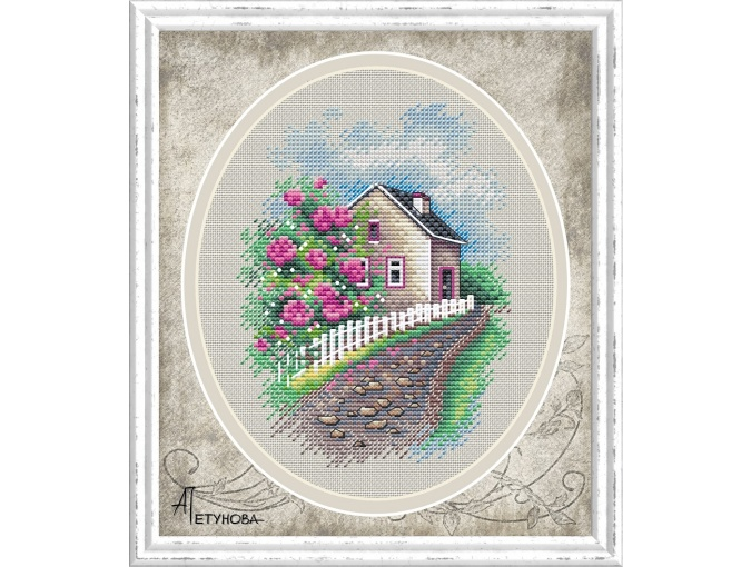Rose Garden Cross Stitch Chart фото 1