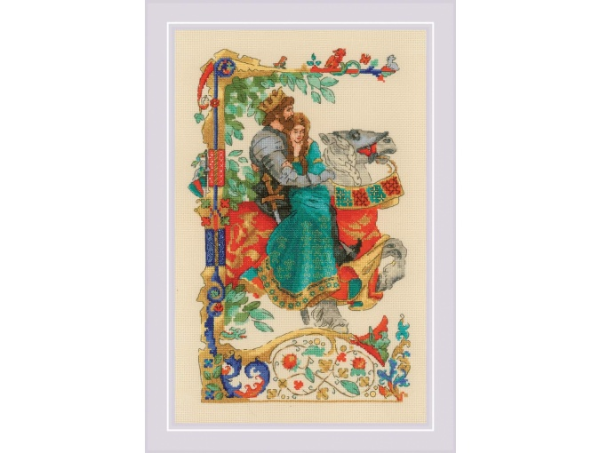 Ballad of Love Cross Stitch Kit фото 1