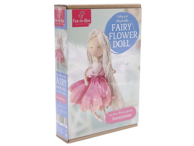 Fairy Flower Angel Doll Sewing Kit фото 1