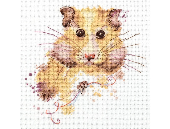 Hamster Cross Stitch Kit фото 1