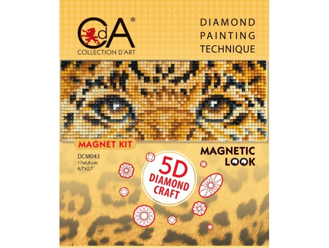Leopard Look Diamond Painting Kit фото 2