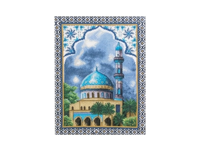 Mosque Cross Stitch Kit фото 1
