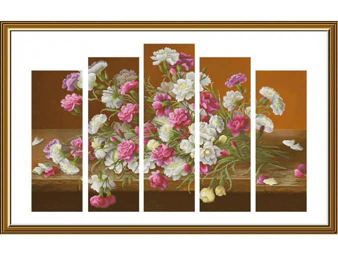 Bouquet Shabo Cross Stitch Kit фото 1