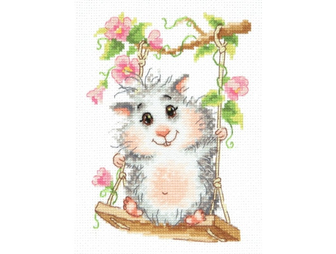 On the Swing Cross Stitch Kit фото 1