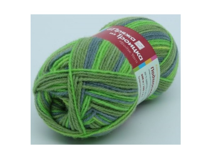 Troitsk Wool Countryside Print, 50% wool, 50% acrylic 10 Skein Value Pack, 1000g фото 71
