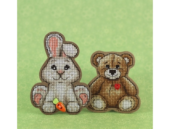 Bunny Original Magnet Cross Stitch Kit фото 2