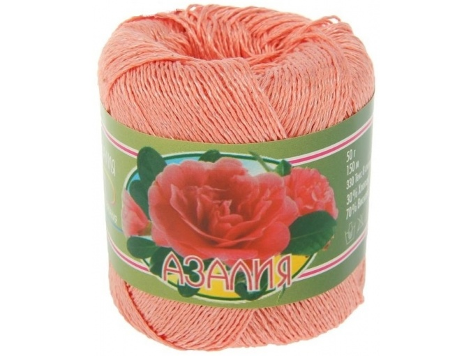 Kirova Fibers Azalea, 30% cotton, 70% viscose 4 Skein Value Pack, 200g фото 6