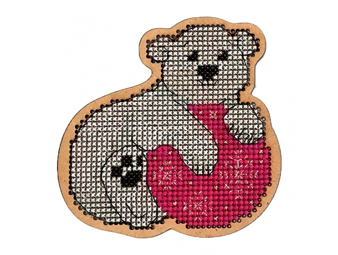 Christmas Toys. Bruin Cross Stitch Kit фото 1
