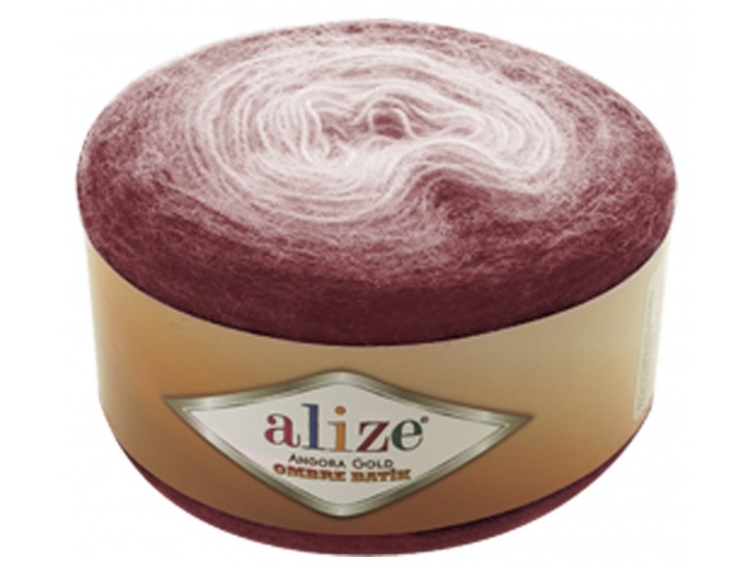 Alize Angora Gold Ombre Batik, 20% Wool, 80% Acrylic 4 Skein Value Pack, 600g фото 12