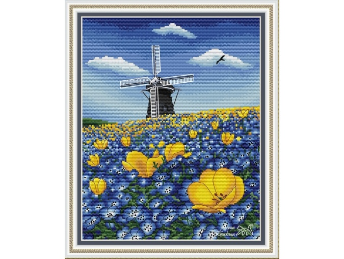Netherlands Cross Stitch Pattern фото 1