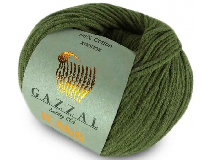 Gazzal Jeans, 58% Cotton, 42% Acrylic 10 Skein Value Pack, 500g фото 30