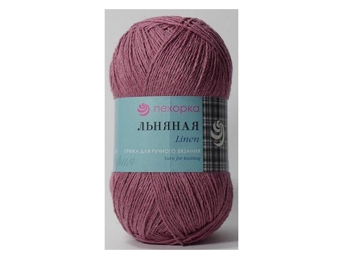 Pekhorka Linen, 55% Linen, 45% Cotton, 5 Skein Value Pack, 500g фото 17