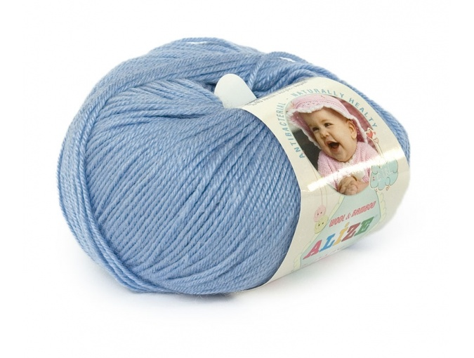 Alize Baby Wool, 40% wool, 20% bamboo, 40% acrylic 10 Skein Value Pack, 500g фото 5