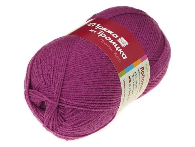 Troitsk Wool Waterfall, 70% wool, 30% nylon 10 Skein Value Pack, 1000g фото 19