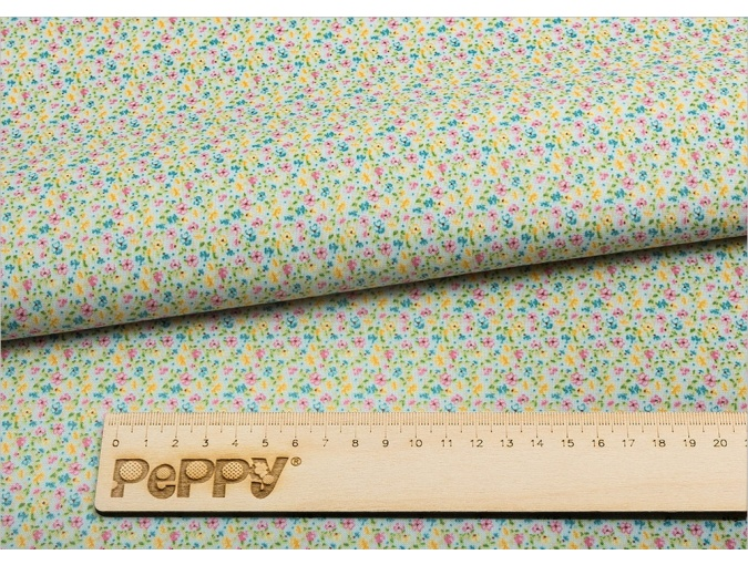 Fat Quarter Peppy, print Blue with Little Flowers фото 2