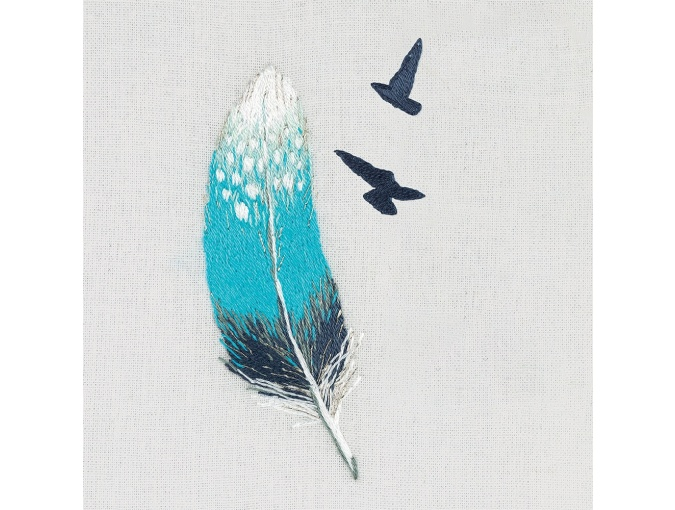 Feather Embroidery Kit фото 1
