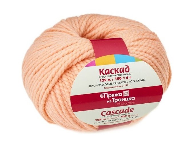Troitsk Wool Cascade, 40% wool, 60% acrylic 10 Skein Value Pack, 1000g фото 11